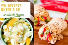 10 Rezepte unter 5 SmartPoints – WW Smart Points, About Me Blog, Chicken, Ethnic Recipes, Zero, Food, Favorite Recipes, Food And Drinks, Ww Recipes