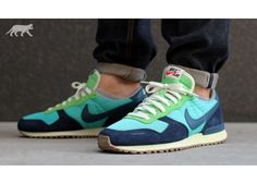 Nike Air Vortex Vintage V-Series (Sport Turquoise / Squadron Blue - Obsidian - Poison Green)
