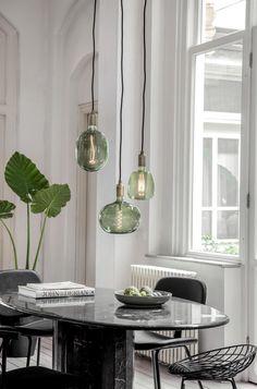 Natural Home Decor Retro Home Decor, Cheap Home Decor, Outside Lighting Ideas, Led Color, Retro Lampe, Ethnic Decor, European Home Decor, Green Led, Led Lampe