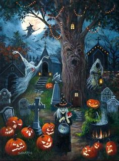~Halloween Night by Susan Rios~