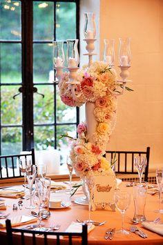 Roses & Pearls Candelabra. John LoConte – 617 Weddings. Alden Castle. A LONGWOOD Venues.