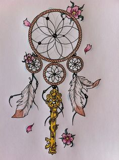 Dreamcatcher Tattoos Art Gallery | deviantART: More Like Wolf Dreamcatcher tattoo by *JetHero13