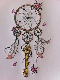 Dreamcatcher Tattoos Art Gallery   deviantART: More Like Wolf Dreamcatcher tattoo by *JetHero13