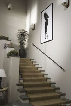 The Holiday Movie - Cameron Diaz House  staircase-artwork