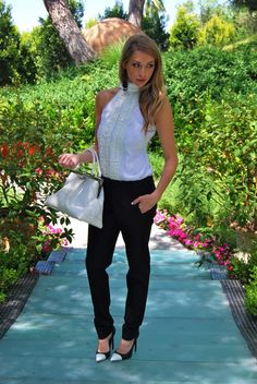 Stassi Schroeder in black and white ♔Life, likes and style of Creole-Belle ♥