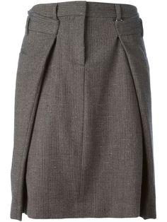 Maison Martin Margiela Folded Tweed Skirt - Penelope - Farfetch.com