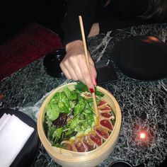 Midnight munchies  at @kiku_japanese_restaurants #Athens #kolonaki #Greece #food #foodstagram #foodies #tuna #tataki #girlsnightout #lenasblackbook_picks #Top_addresses #japanese #restaurants #membersonly #alwayslike #instanow @_fuk_normality_ @antisocialbadasschef #kiku by lenasblackbook