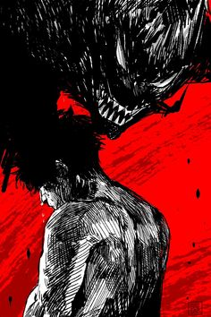 Devilman Crybaby Aesthetic Art, Aesthetic Anime, Aesthetic Grunge, Manga Art, Anime Art, Arte Cyberpunk, Devilman Crybaby, Arte Obscura, Creepy Art