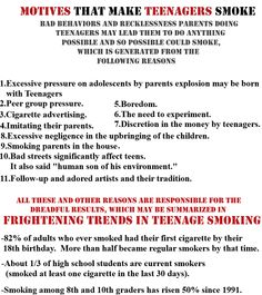 stop smoking out knowing it smoking smoking teenage smoking
