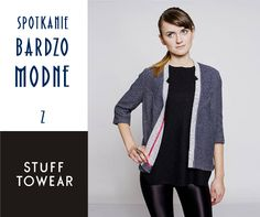 polish brand of fashion STUFF TOWEAR #clothing #woman #polish #fashion #designer #unique #spotkaniabardzomodne