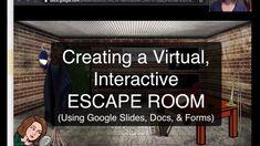 Google Slides Bitmoji Escape Room Tutorial Escape The Classroom, Middle School, High School, Teacher Workshops, Youtube S, Escape Room, Elementary Education, Google Classroom, Teaching Tips