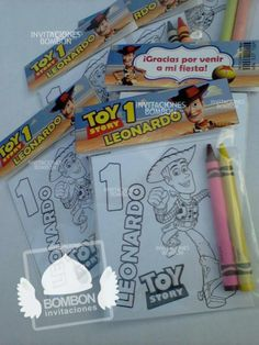#TOY #story #pixar #stuff #party #ideas #theme #woody #favor #bag #coloring #page #crayola