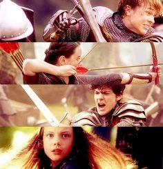Peter, Susan, Edmund, Lucy