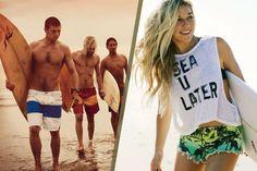 Surfing bukan hanya sekedar hoby tapi gaya hidup. Dipelopori Quicksilver, Ripcurl disusul Billabong dan Volcom berikut brand celana surfing terbaik di dunia