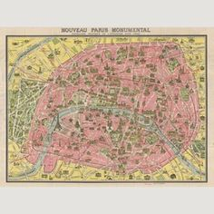 bastille area paris map