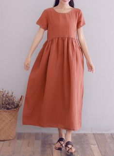 a3bbf4500d646 Maternity Styles - best maternity maxi dress   YUHEYUHE Womens Casual Loose  Tunic Long Maxi Summer Linen Dresses with Pockets    See this wonderful  product.