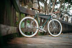 SPORTE Bar Track//Fixie//Fixed Gear guidon rouge anodisé 40