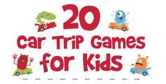 Car Trip Games for Kids