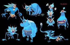 Brandon Wu - Character Design Page