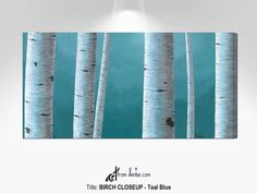 Aspen birch tree pictures canvas wall art, Large teal blue living room wall decor, dining room pictures, over bed bedroom artwork #TealBlueWhite #DiningRoomPictures #LivingRoomWall #ArtOverCouchDecor #AspenTrees #BachelorPadDecor #BirchTreesPictures #WallDecorArtWork #CanvasWallArt #ArtAboveBedDecor Over Couch Decor, Above Bed Decor, Bedroom Artwork, Blue Bedroom Decor, Gray Decor, Bedroom Office, Master Bedroom, Room Pictures, Canvas Pictures