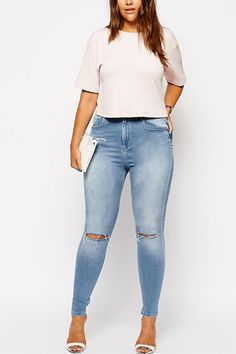 From Skinnies To Boyfriends, Your Perfect Plus-Size Jeans