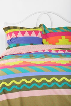 Beci Orpin Stripe Pillow Set