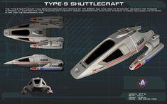 Type 9 Shuttle ortho [New] by unusualsuspex on DeviantArt Star Trek Rpg, Star Wars, Vaisseau Star Trek, Star Trek Online, Starfleet Ships, Space Fighter, Star Trek Images, Star Trek Series, Sci Fi Shows