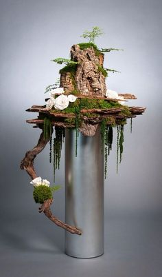 Preserved Flower Display by Donaldo Radovich - . - home accessories - Preserved Flower Display by Donaldo Radovich