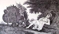 Gyulai Líviusz: Sárkányt legeltető szűz Moose Art, Painting, Animals, Animales, Animaux, Painting Art, Paintings, Animal, Animais