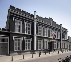 """A design boutique hotel set in a former prison (1863-2007) and is located in the historic centre of Roermond. The hotel offers luxurious rooms ( the """"Comfort Cachot"""" rooms are made out of three former cells), a restaurant, a bar, a terrace and a wellness area. Prison, Atelier Loft, Around The Corner, B & B, Hotel Offers, Trip Advisor, Terrace, Multi Story Building, Restaurant"""