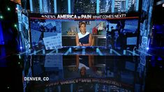 Screen Design, Abc News, Over The Years, America, Usa