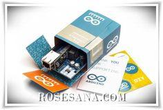 2R Hardware & Electronics: Arduino Ethernet Shield Rev3 WITH PoE Module