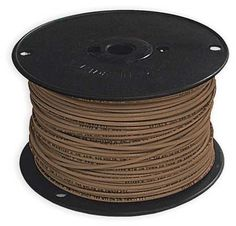 MTW 16 AWG GAUGE RED STRANDED COPPER WIRE 25 FEET MACHINE TOOL WIRE USA MADE