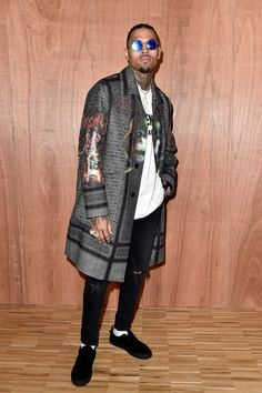 Chris Brown à la Fashion Week de Paris