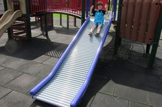 Little-Tikes-Commercial-Roller-Slide Wood Playground, Little Tikes, Outdoor Furniture, Outdoor Decor, Sun Lounger, Improve Yourself, Outdoor Blanket, Commercial, Backyard