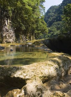 Natural pools in Semuc Champey Valley, Alta Verapaz, Guatemala (by lrmeulman).