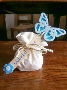 Baptism Favors, Baptism Invitations, Confetti, Shots Ideas, Wishes For Baby, Butterfly Kisses, Opening Day, Christening, Crochet Baby