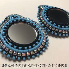 Just sharing! Keeping these beauties for myself 😏#nativeamericanbeadwork #nativebeadwork #nativebling #beadedearrings #handmade #leather #mirror #earrings #hadmadejewelry #n8v #ndn #turquoise