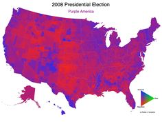 2008 US Presidential Election results.