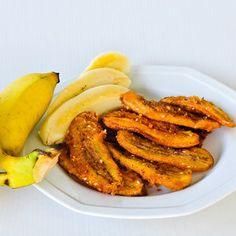 Ingredientes: 3 bananas médias descascadas 2 colheres de sopa de suco de maçã concentrado, sem açúcar 1/8 colher de chá de canela 2 colheres de chá de...
