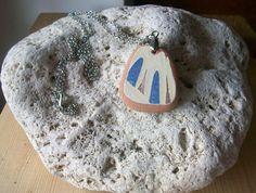 Catenina tono argento con ciondolo sea pottery di lepropostedimari, €15.00
