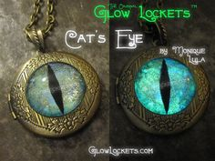 Hey, I found this really awesome Etsy listing at https://www.etsy.com/listing/177222275/cats-eye-glow-locket-glowing-in-the-dark