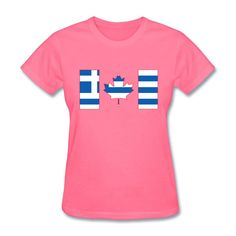 Image result for greek and canadian flag tshirt