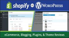 #WordPress vs #Shopify: Which #Platform to Use for Your Online Store Most of the entrepreneurs, companies, and firms go online sooner or later to provide their products/services to a larger group of audience. For this, they have to choose the right E-commerce platform from various available options.   #comparison of shopify and wordpress #features of shopify #features of wordpress #why shopfiy #why wordpress #WordPress vs Shopify