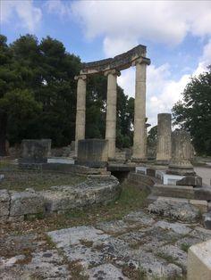 Mei 2017. Olympia, Griekenland