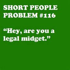 Legal height to be considered a midget