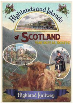 Range of visit historic england heritage railway posters Scotland