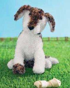 Bernat: Pattern Detail - Boa - Petey the Puppy (knit)
