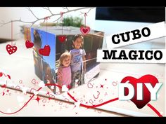 COMO HACER CUBO MAGICO CON FOTOS PARA SAN VALENTIN | REGALO PERFECTO | D...