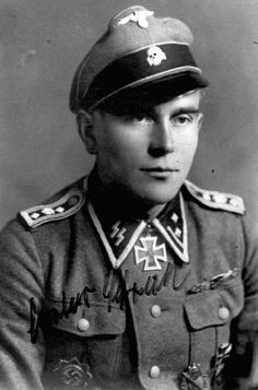 Gustav Schreiber, 9th SS Panzer Division Hohenstaufen, (25 December 1916 – 5 March 1995) was a Hauptscharfuhrer (Sergeant first class) in the Waffen SS during World War II who was awarded the Knight's Cross of the Iron Cross, which was awarded to recognize extreme battlefield bravery or successful military leadership by Nazi Germany during World War II. He was also one of only 631 men to be awarded the Close Combat Clasp in Gold for 50 days of hand-to-hand combat.